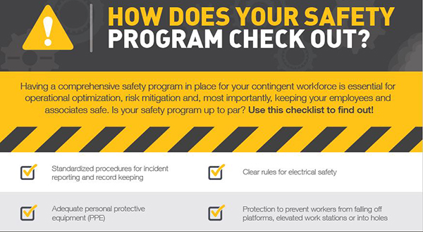 How Does Your Safety Program Check Out? [Checklist] | Staff